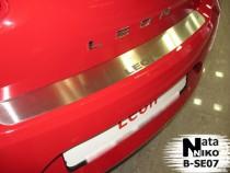 NataNiko Накладка на задний бампер Seat Leon 2006-2012