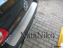 NataNiko Накладка на задний бампер VW Passat B6 sedan