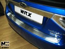 NataNiko Накладка на задний бампер Subaru Impreza 2007-2011