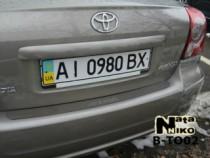 NataNiko Накладка на задний бампер Toyota Avensis 4D 2003-2009