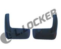 L.Locker Брызговики Honda Accord 2007-2013 задние к-т