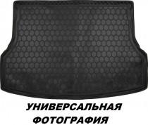 Полиуретановый коврик багажника Chevrolet Aveo 2002-2012/ZAZ Vida (sedan) Avto Gumm