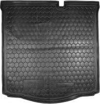 Полиуретановый коврик багажника Citroen C-Elysee Avto Gumm