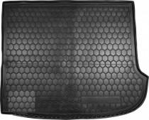 Полиуретановый коврик багажника Hyundai Santa Fe 2006-2012 7 мест Avto Gumm