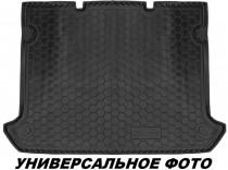 Полиуретановый коврик багажника Kia Carens 2012- 7 мест Avto Gumm