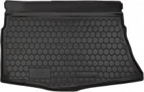 Полиуретановый коврик багажника Kia Ceed 2013- hatchback Avto Gumm
