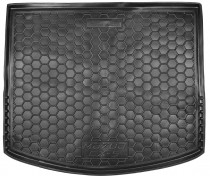 Полиуретановый коврик багажника Mazda CX-5 2012-2017 Avto Gumm