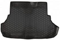 Полиуретановый коврик багажника Mitsubishi Lancer X sedan Avto Gumm