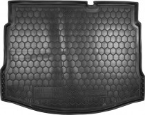 Полиуретановый коврик багажника Nissan Qashqai 2006-2014 с докаткой Avto Gumm