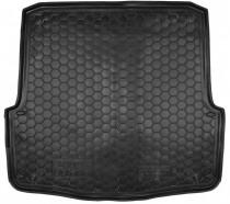 Полиуретановый коврик багажника Skoda Octavia A5 универсал Avto Gumm