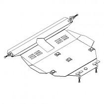 Кольчуга Защита двигателя BYD Flyer 1998-2008