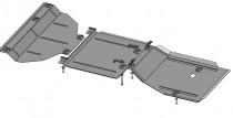 Кольчуга Защита двигателя Dodge Durango 2010-