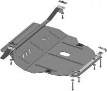 Кольчуга Защита двигателя Seat Leon 1999-2005, бензин