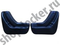 L.Locker Брызговики Nissan Tiida HB 2015- задние к-т
