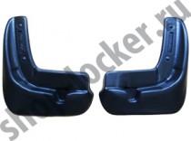 L.Locker Брызговики Nissan Tiida HB 2015- передние к-т