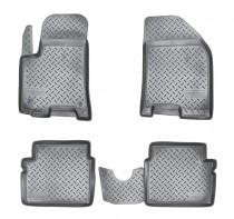 Коврики резиновые Chevrolet Aveo 2004-2011 Nor-Plast