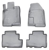 Коврики резиновые Chevrolet Captiva/Opel Antara 2006-2011 Nor-Plast
