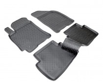 Коврики резиновые Chevrolet Lacetti Nor-Plast