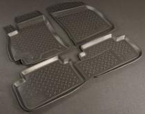 Коврики резиновые Chevrolet Lanos/Daewoo Lanos (Sens) Nor-Plast