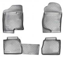 Nor-Plast Коврики резиновые Chevrolet Tahoe/Cadillac Escalade 2006-2014