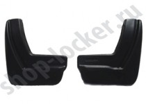 Брызговики Peugeot 308 НВ 2013- задние к-т L.Locker