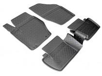 Коврики резиновые Citroen С4 2010- Nor-Plast