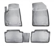 Коврики резиновые Citroen C5 (X40) 2001-2008 Nor-Plast