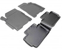 Коврики резиновые ZAZ Forza/Chery A13  Nor-Plast
