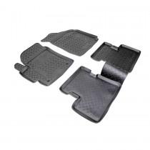 Коврики резиновые Daewoo Matiz 2005- Nor-Plast