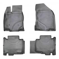 Коврики резиновые Ford Edge 2014- Nor-Plast