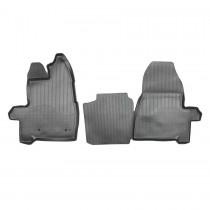 Коврики резиновые Ford Custom (короткая база) передние Nor-Plast