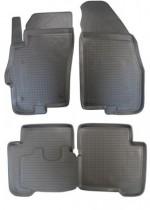 Коврики резиновые Fiat Linea Nor-Plast
