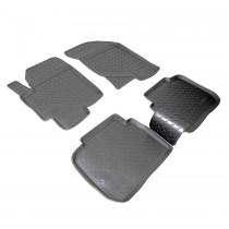 Коврики резиновые Hyundai Elantra XD  Nor-Plast