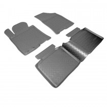 Nor-Plast Коврики резиновые Hyundai i40 2011-