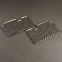 Коврики резиновые Hyundai ix55 3-й ряд Nor-Plast