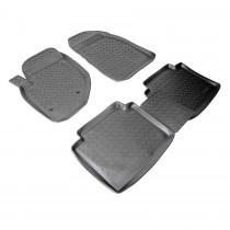 Коврики резиновые Hyundai Matrix Nor-Plast