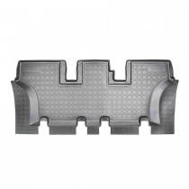 Nor-Plast Коврики резиновые Hyundai Santa Fe 2012- 7 мест (3-й ряд)