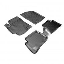 Коврики резиновые Hyundai Accent 2006-2010 Nor-Plast