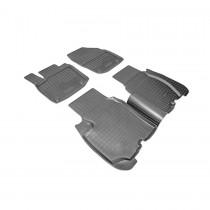 Коврики резиновые Honda Civic 2012- 5D Nor-Plast