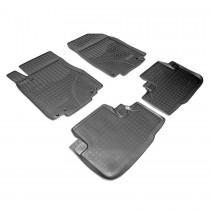 Коврики резиновые Honda CR-V 2012- Nor-Plast