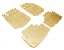Nor-Plast Коврики резиновые Honda CR-V 2012- БЕЖЕВЫЕ