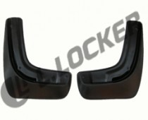L.Locker Брызговики SsangYong Actyon New 2011-/Korando 2010- задние к-т