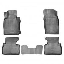 Коврики резиновые Infiniti Q50 2013- 3D Nor-Plast