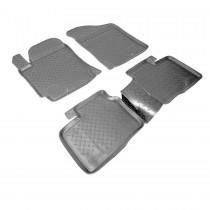 Коврики резиновые Kia Cerato Koup 2010-2013 Nor-Plast