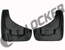 L.Locker Брызговики SsangYong Rexton W 2012- передние к-т