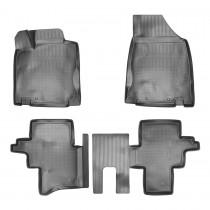 Nor-Plast Коврики резиновые Nissan Pathfinder 2012- 5 мест