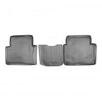 Nor-Plast Коврики резиновые Nissan Qashqai+2 задние
