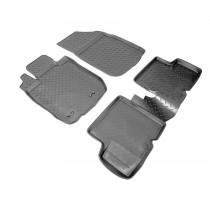 Nor-Plast Коврики резиновые Renault Duster 2011-/Nissan Terrano 2014- 2WD