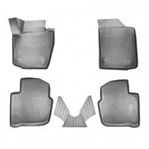Nor-Plast Коврики резиновые Skoda Rapid/Spaceback/Seat Toledo  2012- 3D