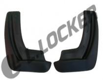 L.Locker Брызговики Volkswagen Golf 7  2012- задние к-т